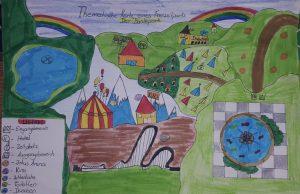 """""""Buntepark"""" von Victoria Mazur"""